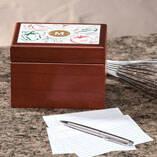Personalized Farmers Market Salsa Recipe Box