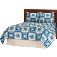 Reversible Star Quilt Print Comforter