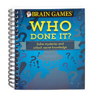 Brain Games® Who Done It?