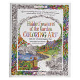 Adult Hidden Treasures of the Garden Coloring Book