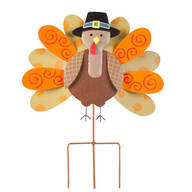 Pilgrim Turkey Lawn Stake by Maple Lane Creations™