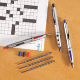 Erasable Puzzle Pens, Set of 3