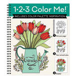 1-2-3 Color Me Garden Coloring Book