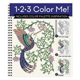 1-2-3 Color Me Hummingbird Coloring Book