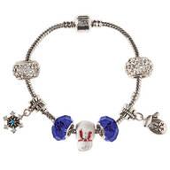 Winter Wonderful Stainless Steel Charm Bracelet