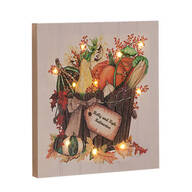 Personalized Lighted Harvest Canvas by Northwoods Illuminations™