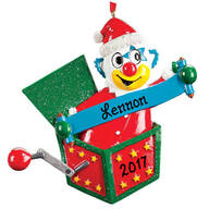 Personalized Jack-in-the-Box Ornament