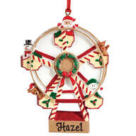 Personalized Ferris Wheel Ornament