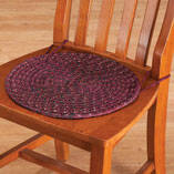 Braided Chair Pads, Set of 2