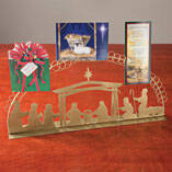 Nativity Scene Card Holder