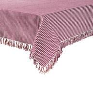 Homespun Woven Tablecloth