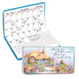 Personalized 2 Yr. Planner Bless This House