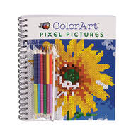 ColorArt® Pixel Pictures Coloring Book
