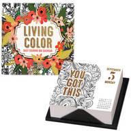Living Color Page-A-Day Desk Calendar