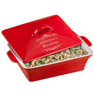 Personalized Lidded Rectangular Baking Dish