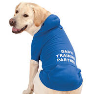 Personalized Blue Dog Sweatshirt