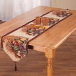 Cornucopia Table Runner