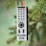 Personalized Remote Control Ornament