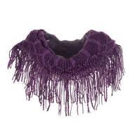 Fringe Knit Scarf