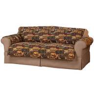 Lodge Print Microfiber Sofa Protector