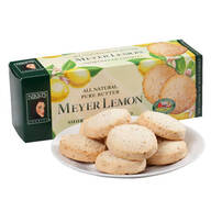 Pure Butter Meyer Lemon Shortbread Cookies
