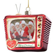 """I Love Lucy®"" Merry Christmas TV Ornament"
