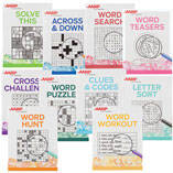 AARP Large Print Puzzle Books, Set of 10