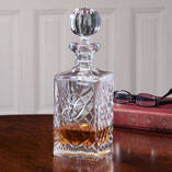Personalized European Crystal Decanter