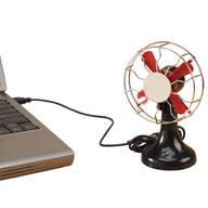 Retro Style USB Fan