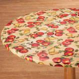 Fruit Vinyl Elasticized Tablecover
