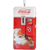 Coca-Cola® Santa Claus Vending Machine Ornament