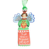"""The Gift of Love"" Angel Ornament"
