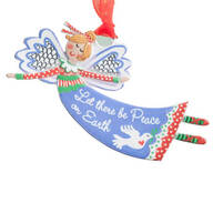 """Let There Be Peace on Earth"" Angel Ornament"