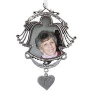 Forever in Our Hearts Pewter Frame Ornament