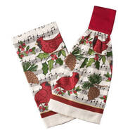 Cardinal Holiday Towel Set