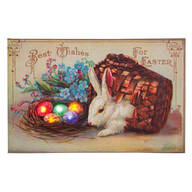 Lighted Easter Wishes Canvas