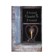 Lighted Home Sweet Home Canvas