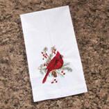 Cardinal Guest Fingertip Towel