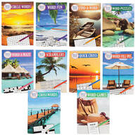 Merriam Webster Puzzle Books, Set of 10