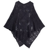 Comfort Weave Knit Poncho