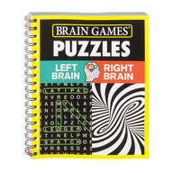 Brain Games™ Left Brain Right Brain Puzzles
