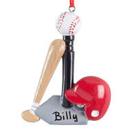 Personalized T-Ball Ornament