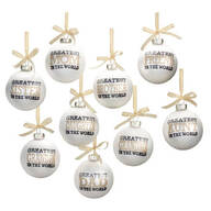 """""""Greatest in the World"""" Ornament"""