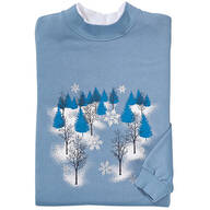Shimmering Winter Wonderland Sweatshirt
