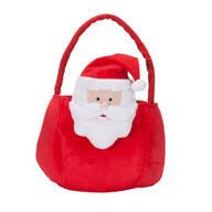Personalized Plush Santa Basket