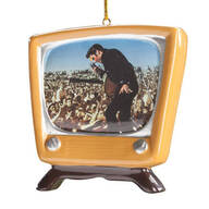 Elvis Presley™ Retro TV Ornament