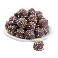 Dark Chocolate Covered Pretzel Balls - 4 oz.