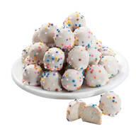White Confection Covered Pretzel Balls - 4 oz.