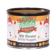 The Peanut Shop® Happy Holidays Milk Chocolate Brittle Nuggets