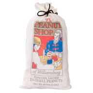 The Peanut Shop® Roasted, Salted In-Shell Peanuts in a Sack